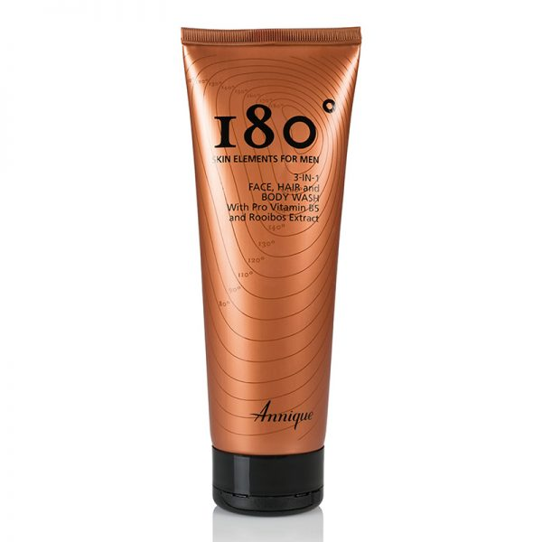 Annique 180° Men 3-in-1 Face, Hair & Body Wash – 250ml
