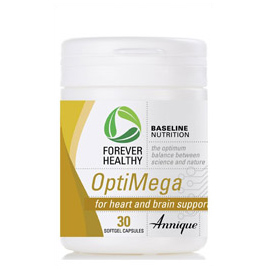 OptiMega 30 Softgel capsules