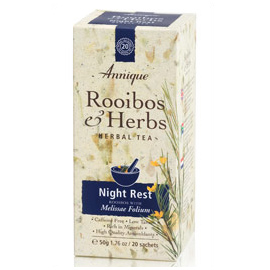Night Rest Tea – Rooibos & Melissa Leaf Tea – 50g