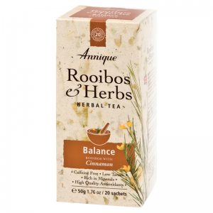 Annique Balance Tea – Rooibos & Cinnamon Tea – 50g