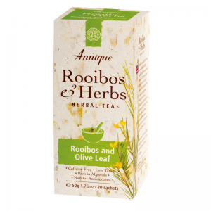 Rooibos and Olive Leaf – 50g