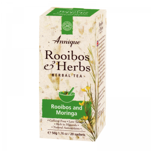 Annique Energy Tea – Rooibos and Moringa 50g