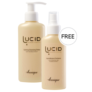 Lucid Calming Cleansing Creme and HydraRestore Freshener