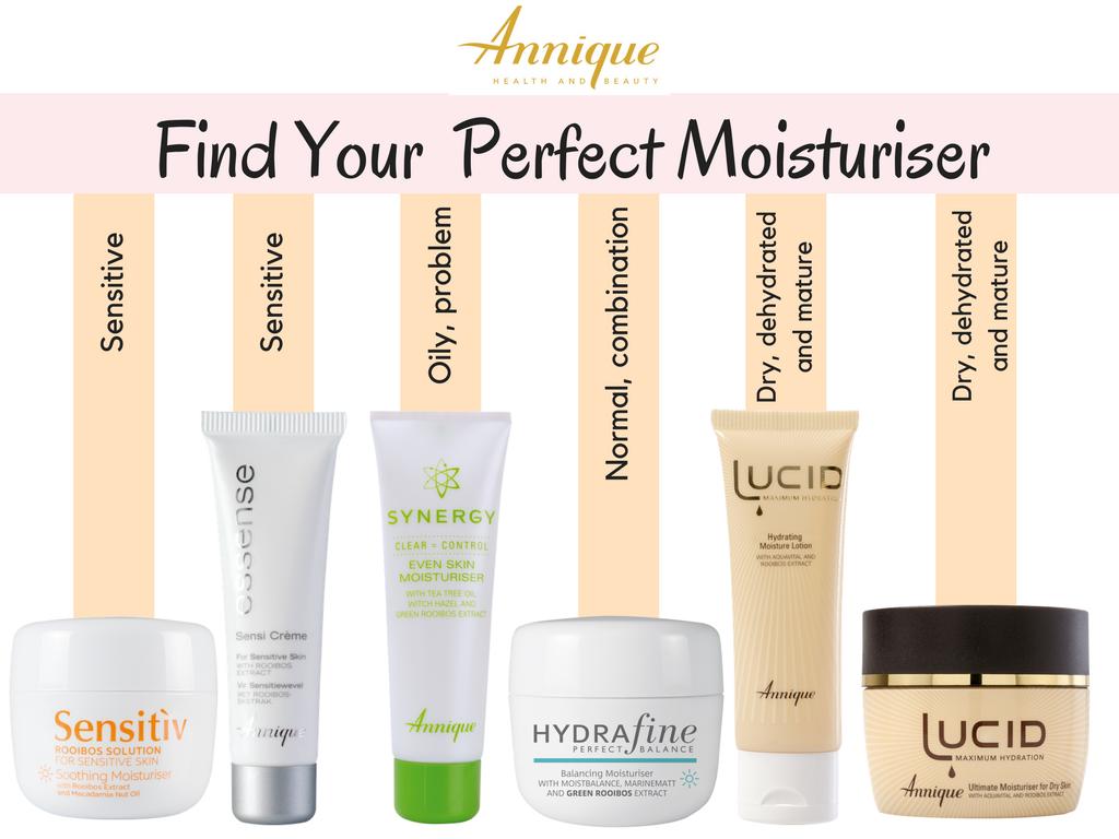 Find Your Perfect Moisturiser 1