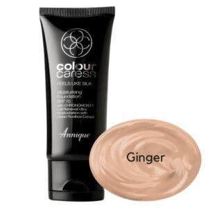 Annique Feels Like Silk Foundation SPF 15 – 30ml | Ginger