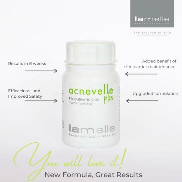 Lamelle Clarity Acnevelle Plus – 60 Caps