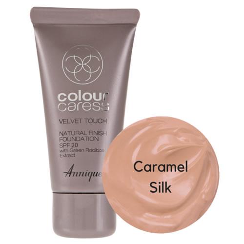 Annique Velvet Touch Foundation SPF 20 – 30ml | Caramel Silk