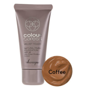 Annique Velvet Touch Foundation SPF 20 – 30ml | Coffee