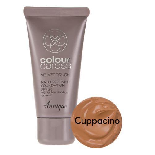 Annique Velvet Touch Foundation SPF 20 – 30ml | Cappuccino