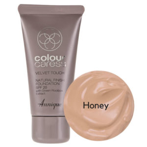 Annique Velvet Touch Foundation SPF 20 – 30ml | Honey