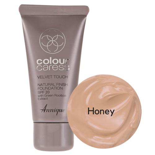 Annique Velvet Touch Foundation SPF 20 – 30ml | Honey