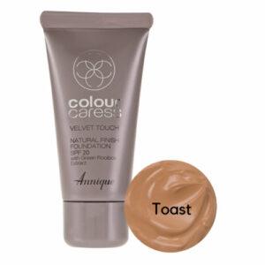 Annique Velvet Touch Foundation SPF 20 – 30ml | Toast
