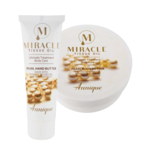 Miracle Tissue Oil Pearl Hand Butter 50ml and Miracle Tissue Oil Pearl Body Butter 200ml