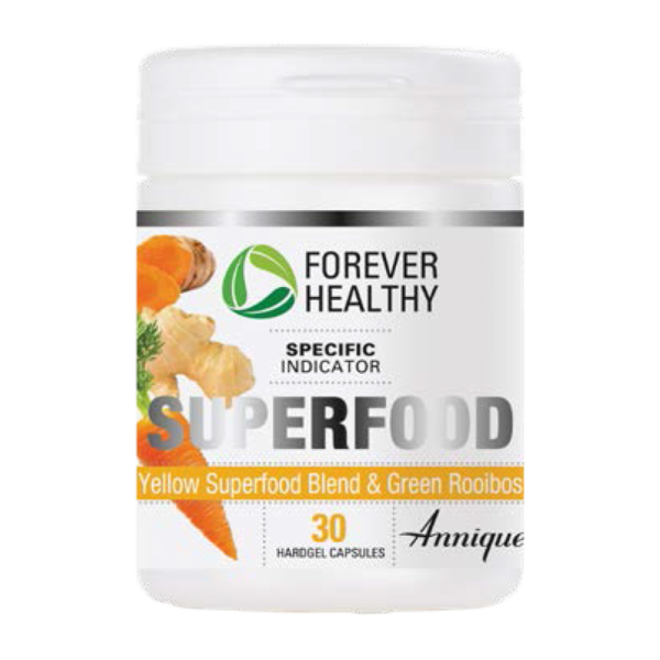 Annique Forever Healthy Superfood Yellow – 30 Capsules