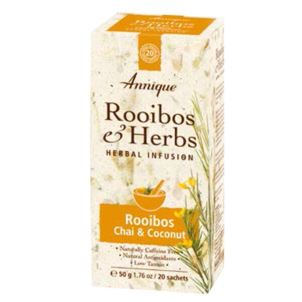 Annique Mood Tea – Rooibos, Chai & Coconut Tea – 50g