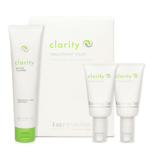 Clarity Treatment Pack for Acne – FREE Cleanser