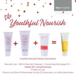 Nourish Promo Pack Lite Youthful Nourish  Age Prevention• Nourish Revitalise Cream + 150 ml Nourish Cleanser + Correctives Recharge CE = Helase 50+ complimentary
