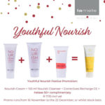 """Nourish Promo Pack Youthful Nourish <p class=""""""""><strong>Targeting the four key pimple concerns</strong></p> <p class="""""""">The exciting new formulations inside Clarity & Acnevelle directly impact all four key concerns in inflammatory acne:</p> <p class="""""""">1. Normalising skin cell turnover.</p> <p class="""""""">2. Decreasing the amount of sebum and oiliness of the skin and preventing oxidation of squalene.</p> <p class="""""""">3. Actively treating the inflammation, redness, and irritation that the acne lesions cause in the skin. Therefore also reduce the risk of scarring and post-inflammatory hyperpigmentation.</p> <p class="""""""">4. Lowering the bacterial load of the skin and boosting the skin's immune function.</p>"""