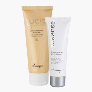 Upsize Ultimate Moisturiser for Dry Skin – 75ml with FREE Enzymatic Exfoliator