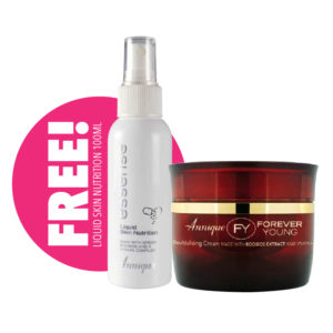 Annique Forever Young Revitalising Cream – 50ml  with FREE  Liquid Skin Nutrition 100ml