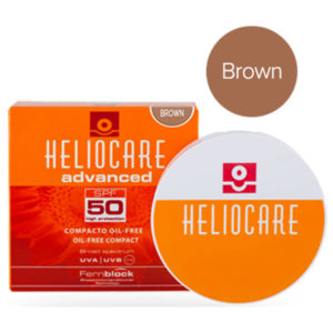 Heliocare Compact Oil Free SPF 50 – Brown